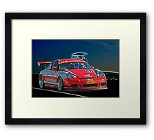 Porsche GT2 'On Track' Framed Print