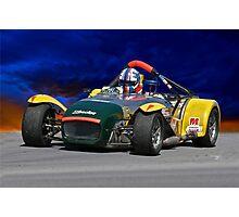 Lotus 'Super 7' Roadster Photographic Print
