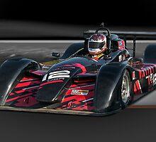 Prototype P1 Race Car 'Across the Line' by DaveKoontz
