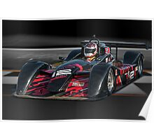 Prototype P1 Race Car 'Across the Line' Poster