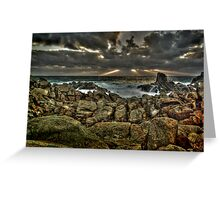 Canal Rocks, Margaret River Greeting Card