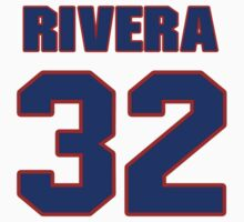 National baseball player Rene Rivera jersey 32 by imsport
