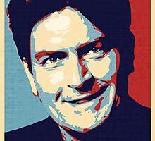 Winning, by Charlie Sheen by endgameendeavor