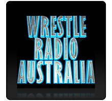 Wrestle Radio Australia Photographic Print