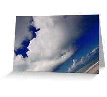 Tropical Sky Greeting Card