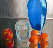 Still Life with Fruit by Rachel Rehrauer