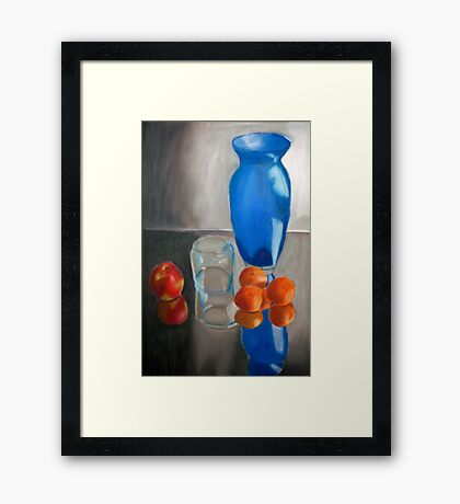 Still Life with Fruit Framed Print