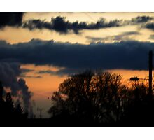 The lonely Sky Photographic Print