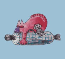 red snooze Kids Clothes