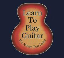Learn To Play Guitar Kids Tee