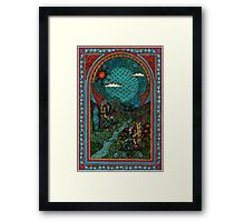 fairy window Framed Print