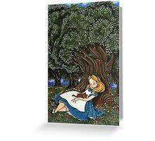 - Alice #2 - Greeting Card