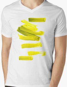 Painted Tee: Neon Green Gold T-Shirt