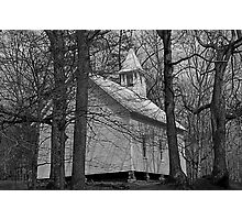 Primitive Church Photographic Print