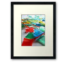 Pickle sticks  Framed Print
