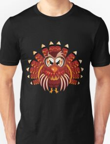 Cute cartoon Thanksgiving turkey bird Unisex T-Shirt
