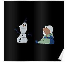 Do you wanna build a snowman? Poster