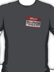 Hello My Name Is Inigo Montoya - The Princess Bride T-Shirt