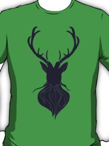 Head of a deer in hand drawn style 5 T-Shirt