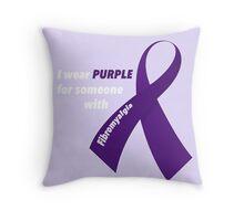 Fibromyalgia Support Throw Pillow