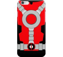 Deadpool Suit iPhone Case/Skin