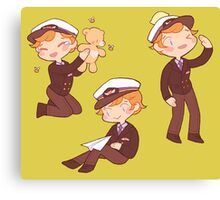 captain martin 'cutie' crieff Canvas Print