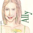 Ally McBeal by Dylan Mazziotti