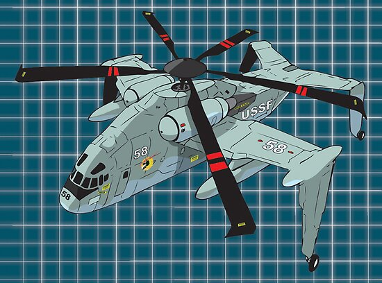 H-78 Humpback colored by ED RIGAUD