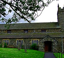 Hawkshead Church by Tom Gomez