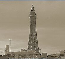 blackpool tower  by oakes deary
