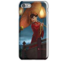 Chinese Night iPhone Case/Skin
