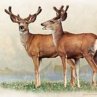 laughing brothers, young bucks in velvet by R Christopher  Vest