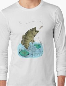 Jumping Bass Long Sleeve T-Shirt
