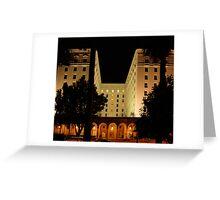 The Old Senator Hotel, Downtown Sacramento, CA Greeting Card