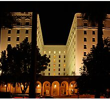 The Old Senator Hotel, Downtown Sacramento, CA Photographic Print