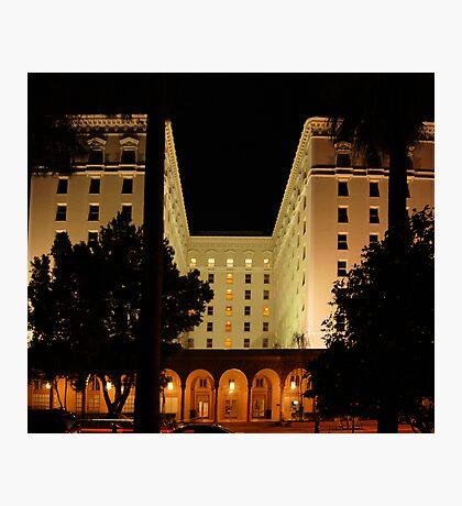 The Old Senator Hotel, Downtown Sacramento, CA Photographic Print