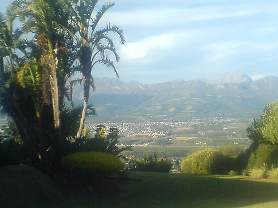 Paarl Monument by Beth Furnell