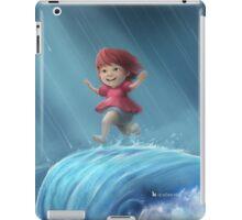 Ponyo Running on a Wave iPad Case/Skin