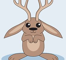 Brown Jackalope by mstiv