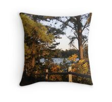 Country Lakes Throw Pillow