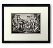 Treaty of Ghent 1814 Framed Print