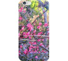 """Blossoms On """"Barbed Wire"""" iPhone Case/Skin"""