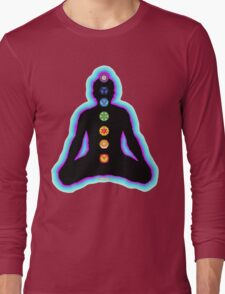 Chakras Meditation Long Sleeve T-Shirt