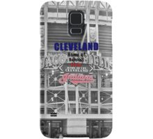 Cleveland Home of Baseball Fever Samsung Galaxy Case/Skin