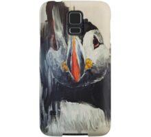 Smear puffin Samsung Galaxy Case/Skin