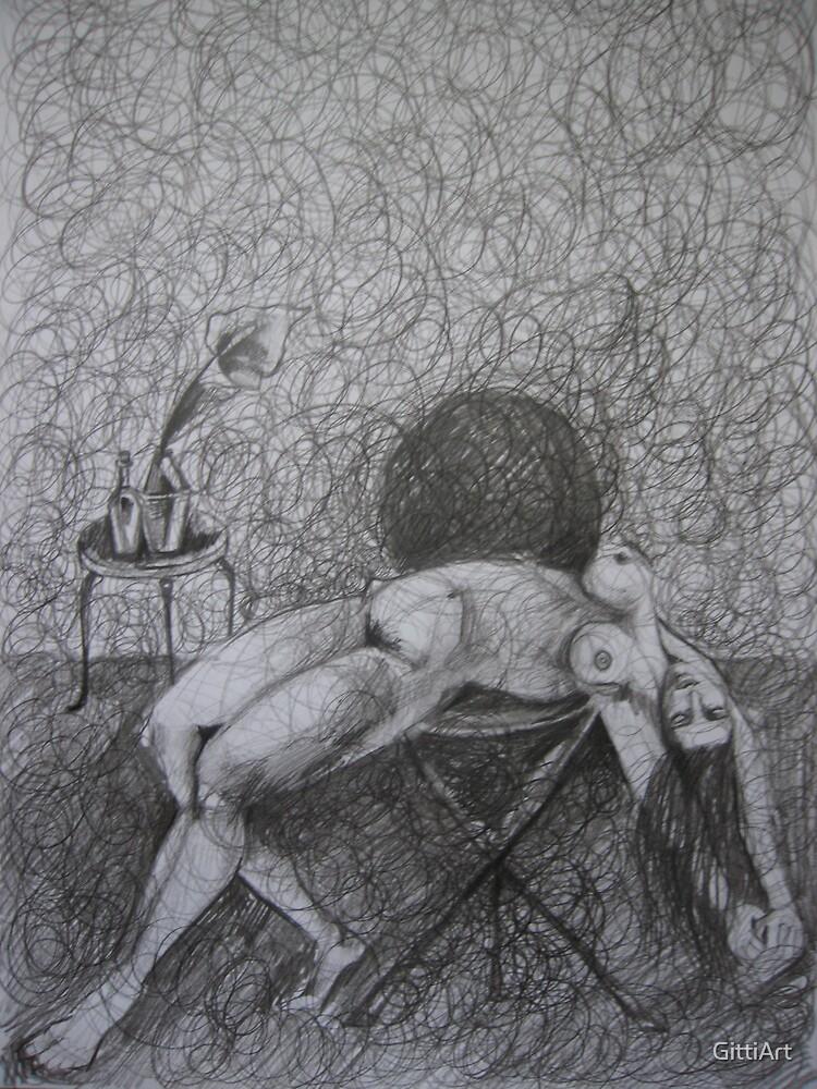 ......LIKE A SURREALISTIC DREAM by GittiArt