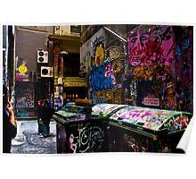 Degraves St Graffiti Poster