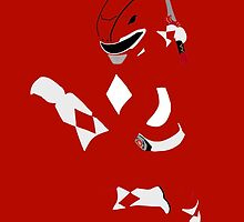 Mighty Morphin Power Rangers Red Ranger by simplepete