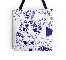 'Broken Love China' Tote Bag