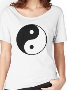 Yin Yang Symbol Women's Relaxed Fit T-Shirt